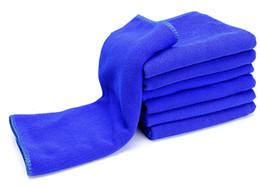 Wholesale 30x70cm Microfiber Car Cleaning Towel Microfiber Detailing Polishing Scrubbing Waxing Cloth Hand Towel WA0727