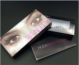 Wholesale High Quality Huda Beauty False Eyelashes Messy Cross Thick Natural Fake Eye Lashes Professional Makeup Beauty Types Messy Cross