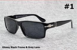 Wholesale Brand Sunglasses PERSOL Brand Polarized Driving Men Sunglasses Mission Impossible4 Tom Cruise Style UV400 Oculos De Sol Masculino