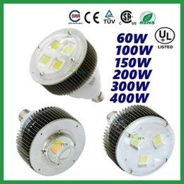 Cree llevó la garantía en venta-CREE 60W 100W 150W 200W 300W 400W LED E27 E40 gancho de alta luz de la bahía Tienda Nave Industrial lámpara de iluminación del supermercado Garantía 5 años