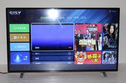 Wholesale 50 quot Full HD LED TV Clear Vision Ultra thin W P D Digital Dressing Filter Digital TV