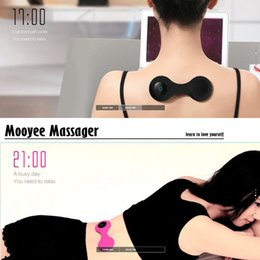 Wholesale 2016 New Arrival Mooyee massager Smart Wireless Bluetooth Back Relaxer Smart Massager for iPhones and Android Phones