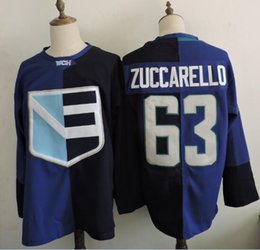 Wholesale 2016 Custom Mens Team Europe Mats Zuccarello ice Hockey Jerseys size M XL top quality free drop shipping