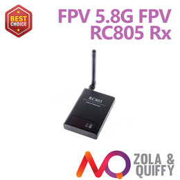 2014 FPV 5.8GHz A V Audio Video Receiver RX with Digital Display for FPV Transmitter Brand new