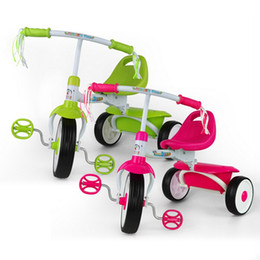Wholesale New Baby Boy Girl Bikes Folding Trike Children Toddler Bicycle Ride On Toy Tricycle JN0059 salebags