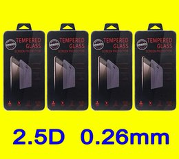 HOT iPhone6S iphone6 7 Tempered glass Screen Protector for Samsung S7 S6 Note4 Note5 Tempered Glass with Retail box Free ship