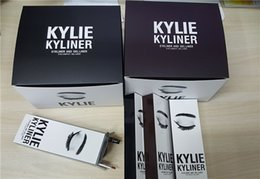 Wholesale New Arrival Kylie Cosmetics KYLINER Birthday Limited Edition Eyeliner Kit color top quality best price DHL free