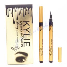 Wholesale HOT MAKEUP Eyeliner Liquide Pencil Kylie jenner waterproof Black True Love Set Lasting Blooming GIFT dhl