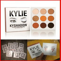 Wholesale Kylie jenner eyeshadow kit Kyshadow brand makeup matte Cosmetics Palette Bronze Preorder eye shadow color in stock