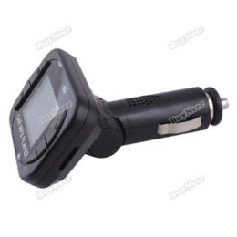 Wholesale tomtent Car MP3 Player Bluetooth FM Transmitter For SD MMC USB CD LCD Display Remote Car MP3 Player Hot