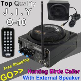 Wholesale Outdoor Amplifier Hunting Bird Caller MP3 Player Decoy Birds Song Loudspeaker For Crow Duck Goose Owl With External Mini Speaker