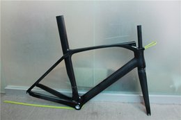 Wholesale carbon road frame look high quality glossy matt k full road carbon bike frame C bicycle frameset