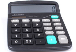 New Energy Solar Big Button Calculator, Stable and durable office Artifact with 12 bottons
