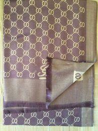Wholesale 2016 autumn winter warm silk Scarves Women G Brand cotton Scarf Women Double Light Style Scarf Long Shawl Stars Pashmina Scarves XMAS gift