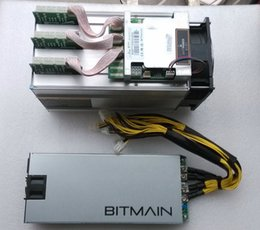 Wholesale NEW Th s AntMiner S7 F1 PSU Gh s Asic Miner Bitcon Miner NM BTC miner Power Consumption w SHA256 DHL shipping not new