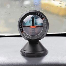 Descuento herramientas equilibrador Pendiente de equilibrador portátil vehículo ángulo del inclinómetro universal del coche del metro de nivel herramienta de degradado