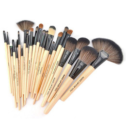 Wholesale Make up for You Brushes Cosmetic Brushes Fashion Brand Fibre Makeup Tools Artificial Fiber Cosmetic Brush with Roll Up PU Case pieces set