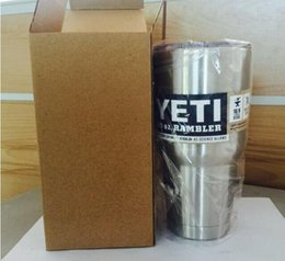 Wholesale HOT Sale OZ OZ OZ Yeti Rambler Coolers Tumbler Stainless Steel Cup Coffee Mug Tumblerful Bilayer Vacuum Insulated Stainless Steel