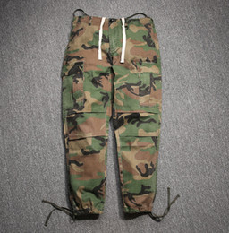 Hip Hop Factory Connection Mens clothing military tactical cargo Pants Casual Fashion west camouflage camo Joggers