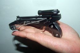 Wholesale Mini Crossbow Shooting Toy Deluxe Black Set for WORLDWIDE
