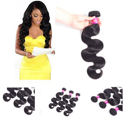 Brazilian Hair Wholesale Unprocessed Virgin Human Hair Peruvian Malaysian Indian Hair Extensions Body straight Wave Bundles Dyeable