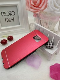 Wholesale Luxury Metal Motomo Aluminum Brushed Phone case for HTC M7 M8 M9 E8 A9 With LOGO Free