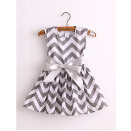 Wholesale new style strawberry cotton print girls dress vestidos baby girls princess dresses children clothes QZ