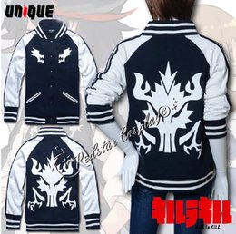 Wholesale Kill la Kill Matoi Ryuko Senketsu Hoodie cosplay Button Jacket Costume Version B