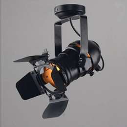 E27 Creative camera model absorb dome light. industrial wind restoring ancient ways personality to shoot the light track light