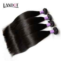 Indian Straight Hair Grade 8A Unprocessed Raw Human Hair Weave Bundles Indian Silky Straight Hair Extensions 3Pcs Lot Natural Black Can Dye