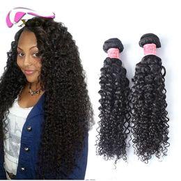 xblhair curly human hair extensions kinky curly hair virgin brazilian human hair bundles 3 4 pieces one set
