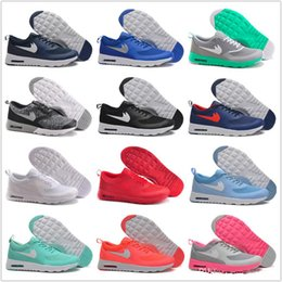 Wholesale Cheap Max Thea Print Running Shoes Men Women Original MAX Sneakers Walking Boots New Sport Shoes Size