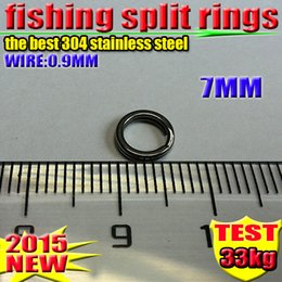 Fishing Lure Accessories Split Rings 7 MM good 304 stainless steel 1000 PCS  lot 2016 new arrial