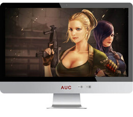"""21.5"""" CORE I7 LED All In One Computer Monitor Built In WIFI Windows7 4GB 8GB Ultra-thin Fashion Energy-saving"""