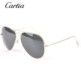 Wholesale Carfia brand classical pilot sunglasses mm Holiday fashion sunglasses men sunglasses women with free accessories product
