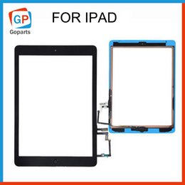 Wholesale For iPad air mini Touch Screen Assembly W IC Home Button Adhesive Sticker Glass Panel