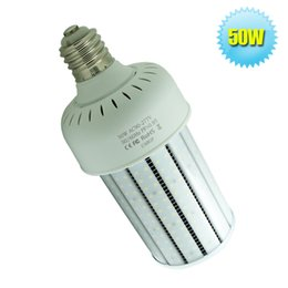 E39 Socket 360 Beam Angle LED Bulb Outdoor Light 50W With Milky PC Cover 110V 220V 6543Lm LED High Bay Light
