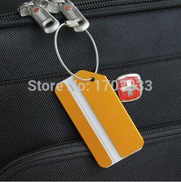 Wholesale Aluminium Metal Travel Luggage Baggage Suitcase Tags Label Address Holder