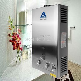 Wholesale America Shipping L LPG GAS Hot Water Heater Propane Tankless Instant Boiler Stainless Steel CE