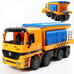 1:22 large simulation snow rescue vehicle inertial toy car truck baby plastic toy car model engineering diecast toys for boys