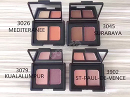 Makeup Duo Eyebrow Shadow Powder Matte Earth Two Colors Eyeshadow Long-Lasting Natural Two-Color Palette 10pcs
