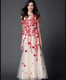 Wholesale Nail bead embroidery long dress party convention toast prom dress Restore ancient ways the skirts of the wind