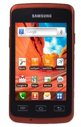 Original Samsung Galaxy Xcover S5690 Waterproof WIFI GPS 3.15MP Camera android 3G 2G Refurbished Mobile Phone