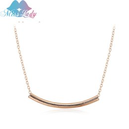 Wholesale Rose Gold Plated Austrian Crystal Lovely Anti Allergy Style Necklaces Pendants Fashion Jewelry For Women MLMG089