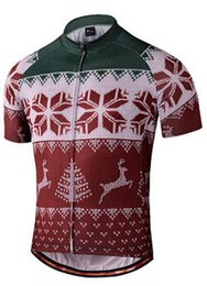 2019 Christmas Snow cycling Quick Dry jersey Short Sleeve, bike riding Breathable clothes, Motorcycle cycling Cllothing D33