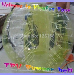Wholesale 1 M pure TPU bumper ball body zorb human bubble suit for adults suit bear ball football