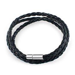 Wholesale New Arrival PU Leather Bracelet Dual Purpose For Women Men Bracelets Bangles Best Gift