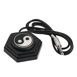 Wholesale 360 Tai Chi Tattoo Machine Power Supply Foot Pedal Switch Control Chrome