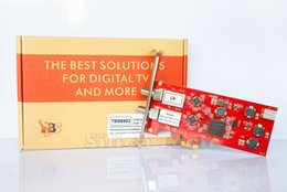 Wholesale TBS Dual Tuner DVB S2 HD Satellite TV PCI e Card