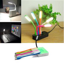 10X Nueva luz flexible del USB LED de la lámpara del cuaderno del ordenador portátil de la lectura del teclado de la computadora de la lámpara Venta caliente desde computadoras portátiles para la venta fabricantes